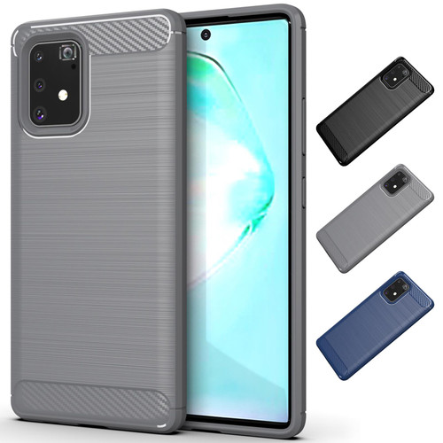 Samsung Galaxy S10 Lite 'Carbon Series' Slim Case Cover