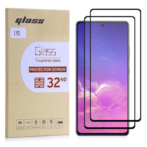 Samsung Galaxy S10 Lite Tempered Glass Screen Protector - 2 Pack