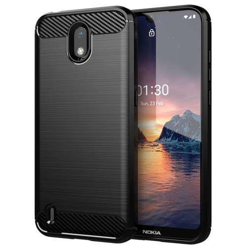 Nokia 1.3 (2020) 'Carbon Series' Slim Case Cover