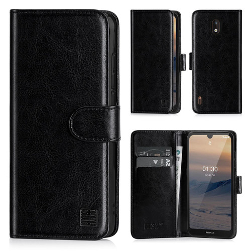Nokia 1.3 (2020) 'Book Series' PU Leather Wallet Case Cover