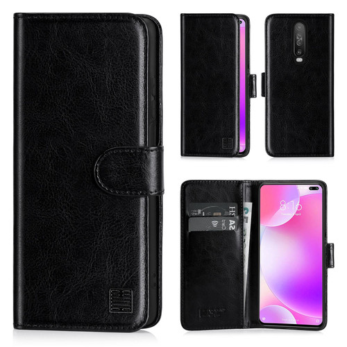 Xiaomi Poco X2 'Book Series' PU Leather Wallet Case Cover