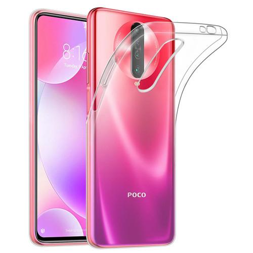 Xiaomi Poco X2 'Clear Gel Series' TPU Case Cover - Clear