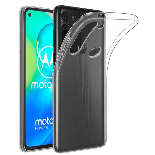 Motorola Moto G8 Power 'Clear Gel Series' TPU Case Cover - Clear