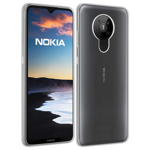Nokia 5.3 (2020) 'Clear Gel Series' TPU Case Cover - Clear