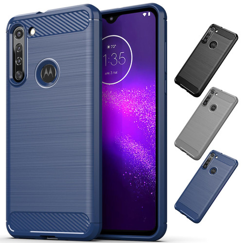 Motorola Moto G8 'Carbon Series' Slim Case Cover