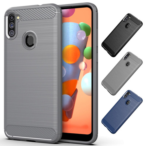 Samsung Galaxy A11 (2020) 'Carbon Series' Slim Case Cover