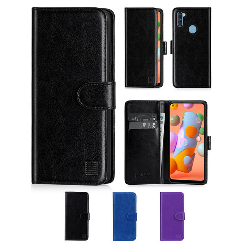 Samsung Galaxy A11 (2020) 'Book Series' PU Leather Wallet Case Cover