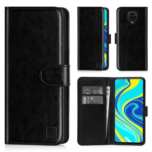 Xiaomi Redmi Note 9 Pro, Redmi Note 9 Pro Max & Redmi Note 9S 'Book Series' PU Leather Wallet Case Cover