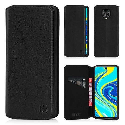 Xiaomi Redmi Note 9 Pro, Redmi Note 9 Pro Max & Redmi Note 9S 'Classic Series 2.0' Real Leather Book Wallet Case
