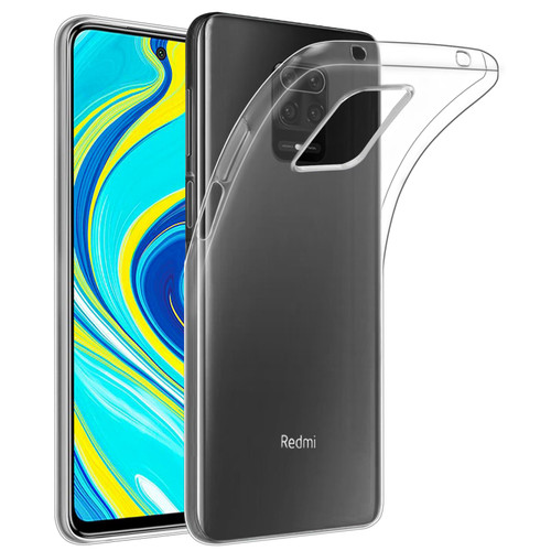Xiaomi Redmi Note 9 Pro, Redmi Note 9 Pro Max & Redmi Note 9S 'Clear Gel Series' TPU Case Cover - Clear