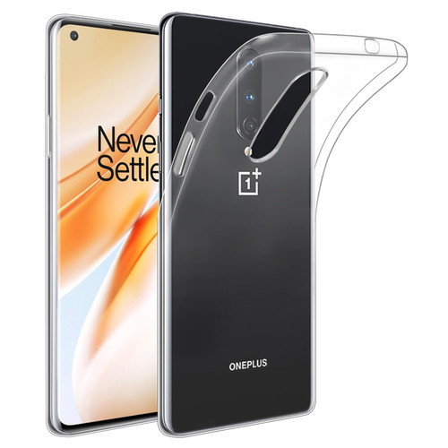 OnePlus 8 'Clear Gel Series' TPU Case Cover - Clear