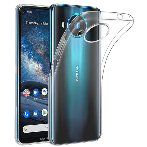 Nokia 8.3 (2020) 'Clear Gel Series' TPU Case Cover - Clear