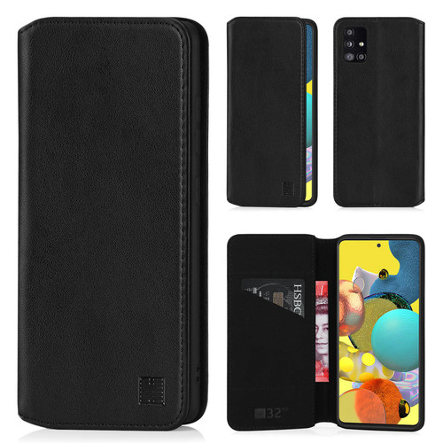 Samsung Galaxy A51 5G (2020) 'Classic Series 2.0' Real Leather Book Wallet Case