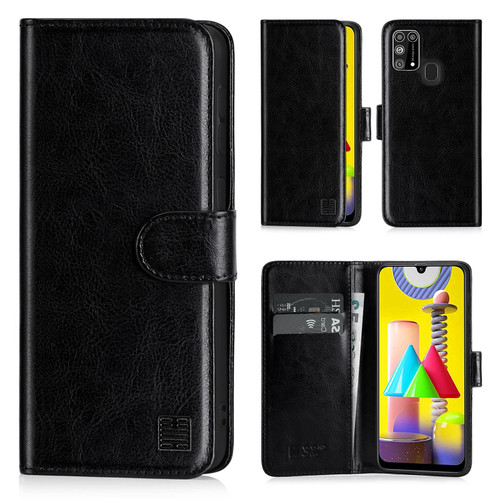 Samsung Galaxy M31 (2020) 'Book Series' PU Leather Wallet Case Cover