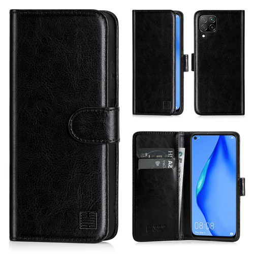 Huawei P40 Lite 'Book Series' PU Leather Wallet Case Cover