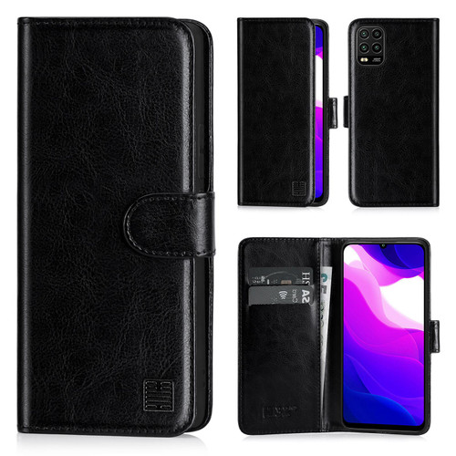 Xiaomi Mi 10 Lite 'Book Series' PU Leather Wallet Case Cover