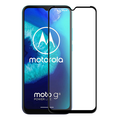 Motorola Moto G8 Power Lite Tempered Glass Screen Protector - 2 Pack