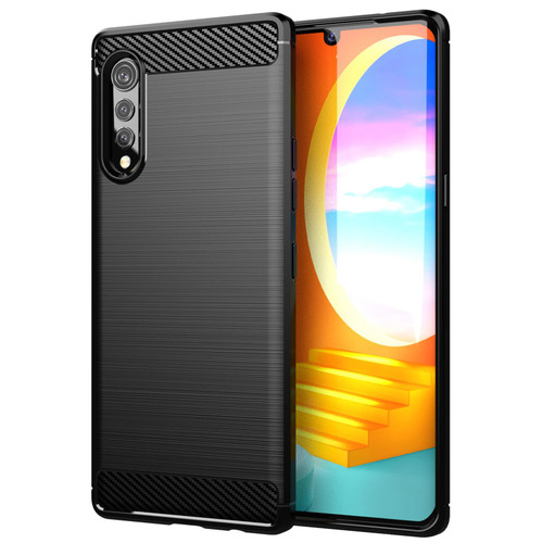 LG Velvet 'Carbon Series' Slim Case Cover