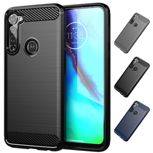 Motorola Moto G Pro (2020) 'Carbon Series' Slim Case Cover