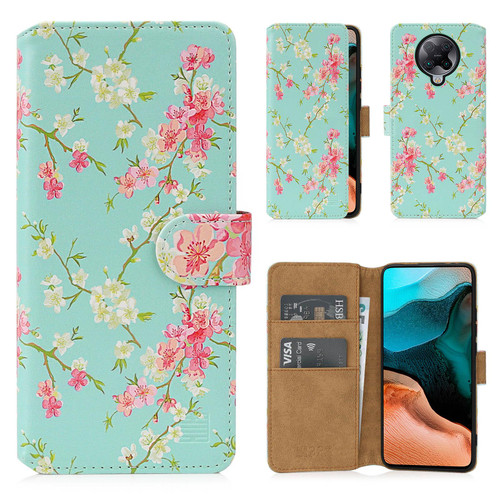 Xiaomi Poco F2 Pro 'Floral Series 2.0' PU Leather Design Book Wallet Case