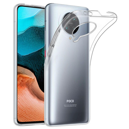 Xiaomi Poco F2 Pro 'Clear Gel Series' TPU Case Cover - Clear