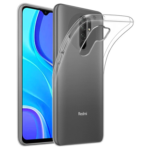 Xiaomi Redmi 9 'Clear Gel Series' TPU Case Cover - Clear