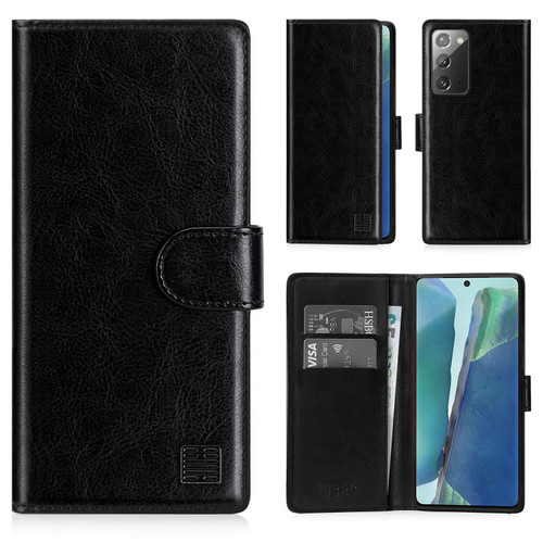 Samsung Galaxy Note 20 'Book Series' PU Leather Wallet Case Cover