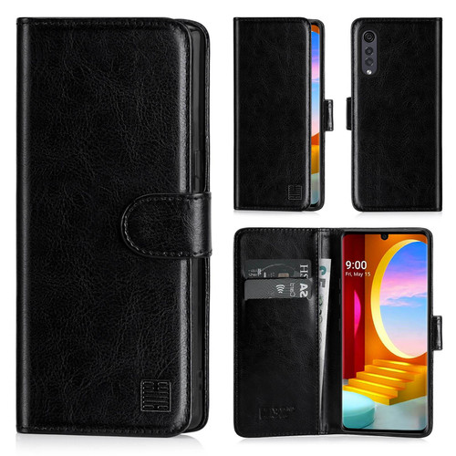 LG Velvet 'Book Series' PU Leather Wallet Case Cover