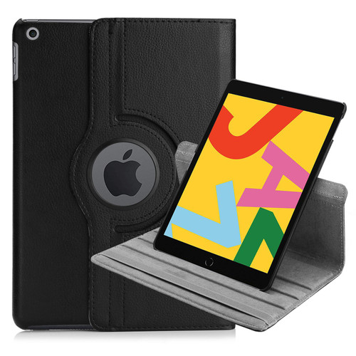 "Apple iPad 10.2"" 7th Generation (2019) 360 PU Leather Book Stand Case"