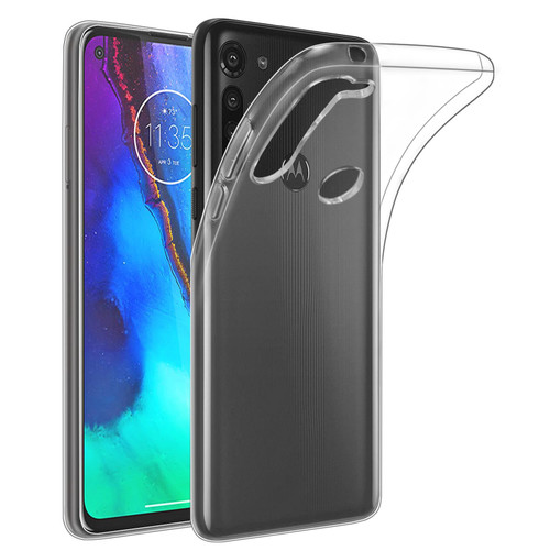 Motorola Moto G Pro (2020) 'Clear Gel Series' TPU Case Cover - Clear