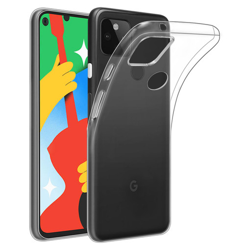 Google Pixel 5 'Clear Gel Series' TPU Case Cover - Clear