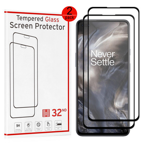 OnePlus Nord Tempered Glass Screen Protector - 2 Pack