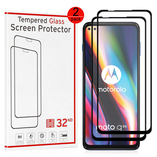 Motorola Moto G 5G Plus (2020) Tempered Glass Screen Protector - 2 Pack