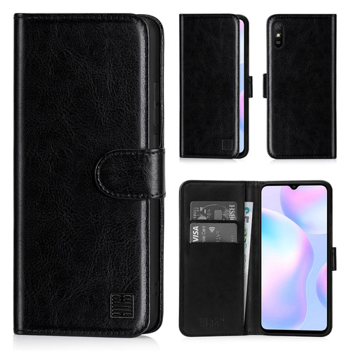 Xiaomi Redmi 9A 'Book Series' PU Leather Wallet Case Cover