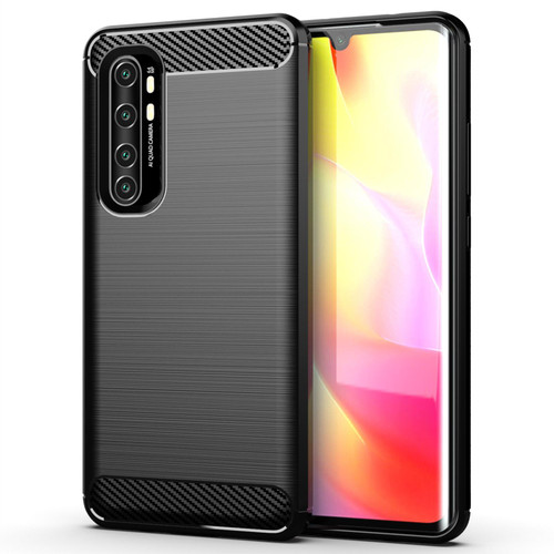 Xiaomi Mi Note 10 Lite 'Carbon Series' Slim Case Cover