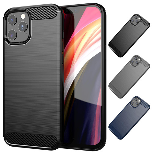 "Apple iPhone 12 Pro Max (6.7"") 'Carbon Series' Slim Case Cover"