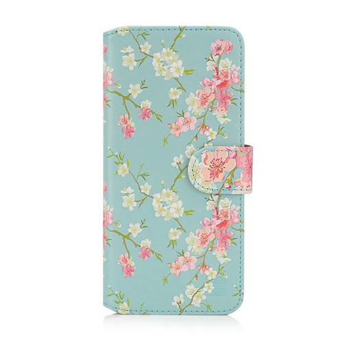 "Apple iPhone 12 Mini (5.4"") 'Floral Series 2.0' PU Leather Design Book Wallet Case"