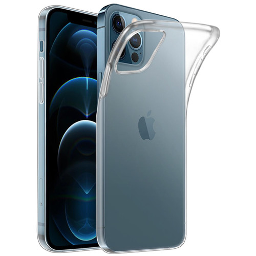 Apple iPhone 12 (6.1) / Apple iPhone 12 Pro (6.1) 'Clear Gel Series' TPU Case Cover - Clear