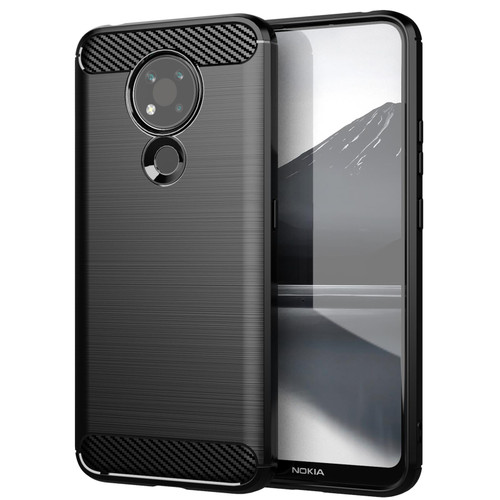 Nokia 3.4 'Carbon Series' Slim Case Cover