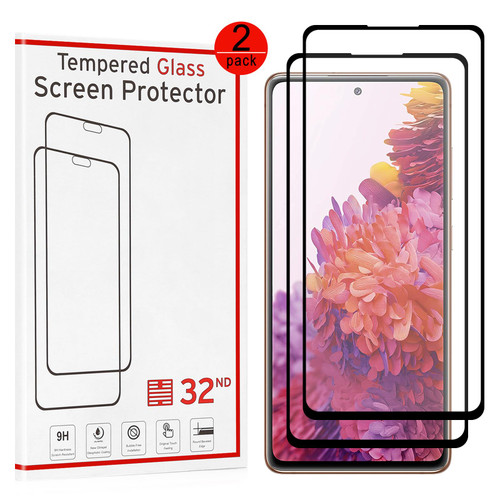 Samsung Galaxy S20 FE 5G (Fan Edition) Tempered Glass Screen Protector - 2 Pack