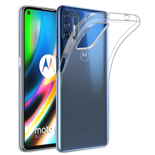 Motorola Moto G9 Plus 'Clear Gel Series' TPU Case Cover - Clear