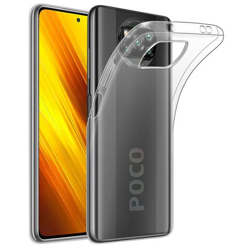 Xiaomi Poco X3 NFC 'Clear Gel Series' TPU Case Cover - Clear