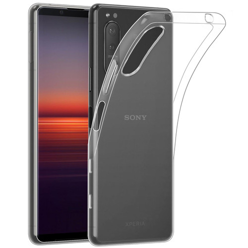 Sony Xperia 5 II (2020) 'Clear Gel Series' TPU Case Cover - Clear
