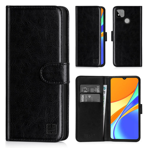 Xiaomi Redmi 9C 'Book Series' PU Leather Wallet Case Cover