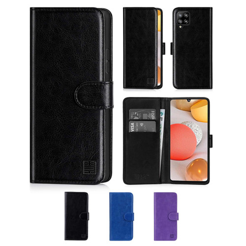 Samsung Galaxy A42 5G (2020) 'Book Series' PU Leather Wallet Case Cover