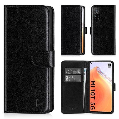 Xiaomi Mi 10T / Mi 10T Pro 'Book Series' PU Leather Wallet Case Cover