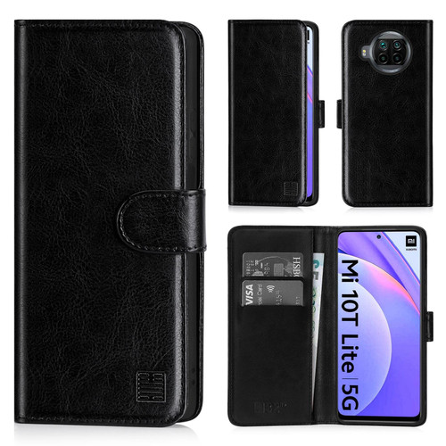 Xiaomi Mi 10T Lite & Redmi Note 9 Pro 5G 'Book Series' PU Leather Wallet Case Cover