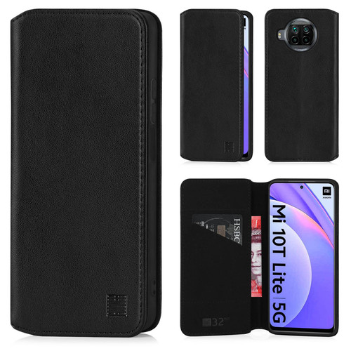 Xiaomi Mi 10T Lite / Mi 10i 5G / Redmi Note 9 Pro 5G 'Classic Series 2.0' Real Leather Book Wallet Case