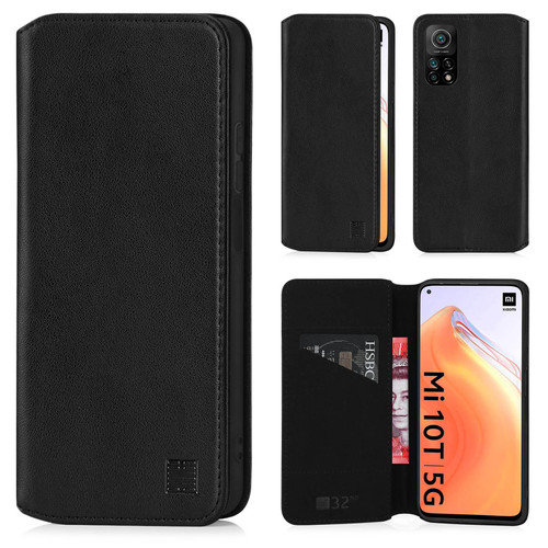 Xiaomi Mi 10T / Mi 10T Pro 'Classic Series 2.0' Real Leather Book Wallet Case