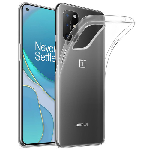 OnePlus 8T 'Clear Gel Series' TPU Case Cover - Clear
